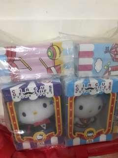 麥當勞 Hello Kitty m記 一套6隻+一隻麥麥送版 共7隻