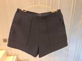 98% new 灰藍短褲