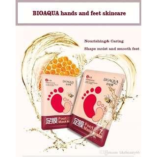 Bioaqua Honey Foot Mask
