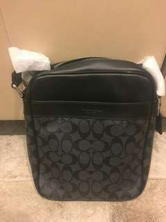 COACH FLIGHT BAG