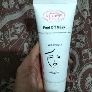 beaute recipe peel off mask