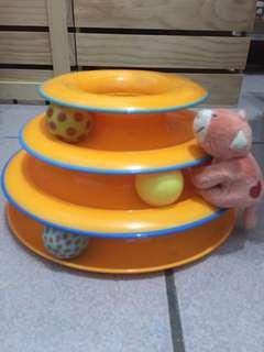 🚚 貓玩具-軌道球Petstages(寵物玩具)