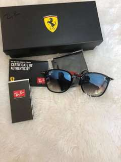 Authentic Rayban Shades Ferrari Edition