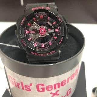 Baby G 少女時代刻名限量版手錶