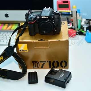 Nikon D7100 DSLR body only