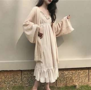 Rm32 Premium Quality Long Cardigan