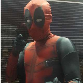 costume deadpool untuk disewa...