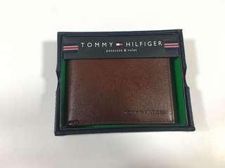 Tommy Hilfiger 真皮銀包 男仕銀包 美國入口