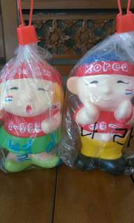 Celengan Korea Couple (oleh2 korea)