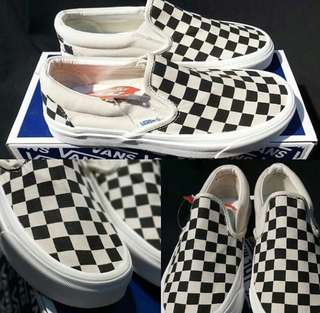 PRE ORDER Vans Slip on Checkerboard Original