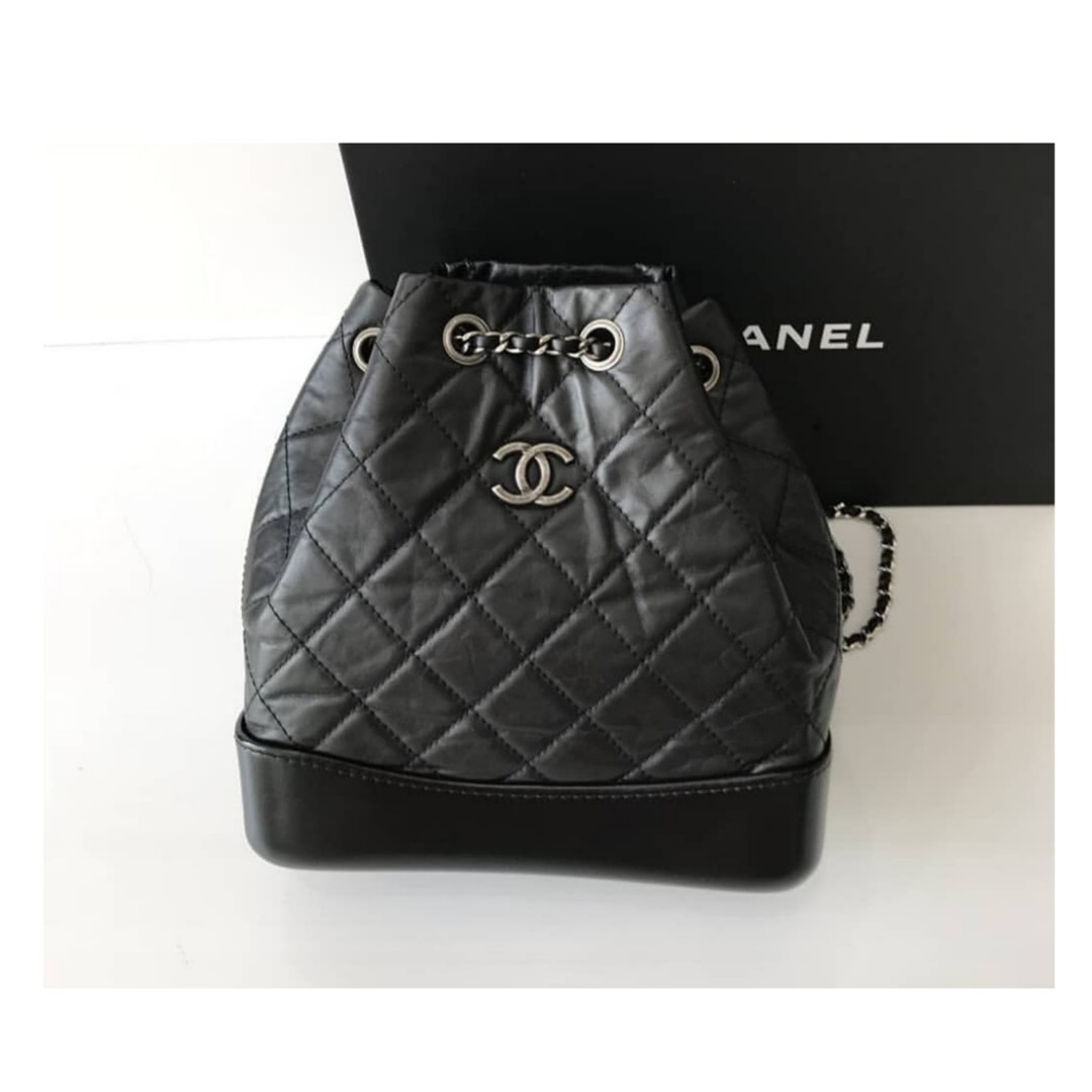 225cc51f1988 Authentic Chanel Small Gabriel Backpack