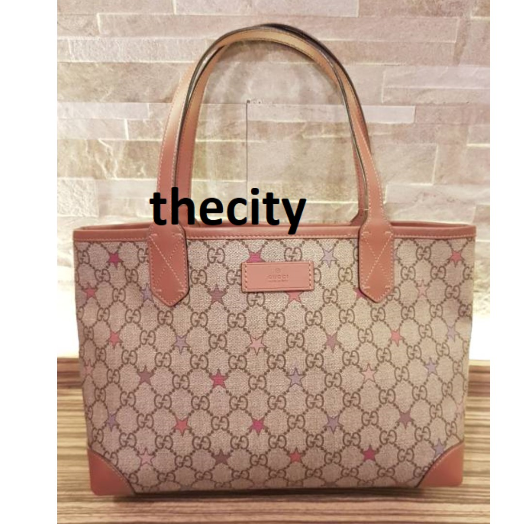 47f93a165 AUTHENTIC GUCCI SMALL SUPREME LEATHER TOTE BAG - EXCELLENT CONDITION,  Luxury, Bags & Wallets on Carousell
