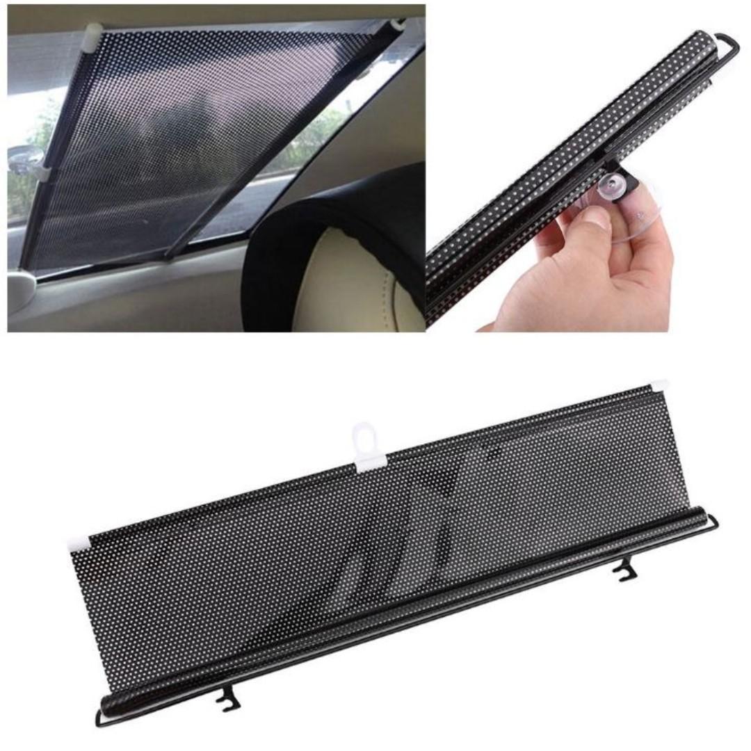 Auto Retractable Car Curtain Rear Window Shade Windshield Sunshade Shield  Visor 670a72a0bf1