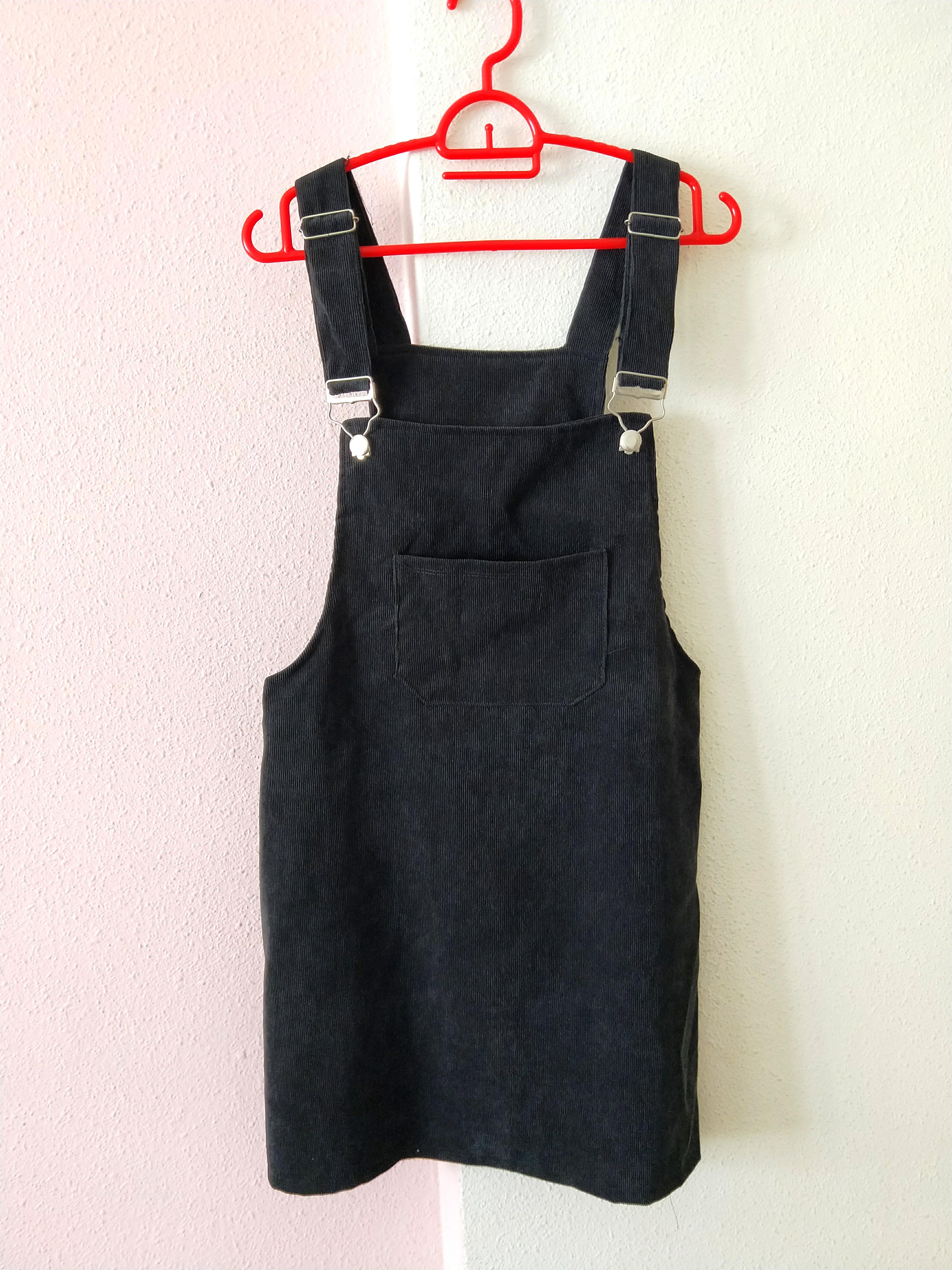 8a6b724737d Black Dungaree Dress  Pinafore