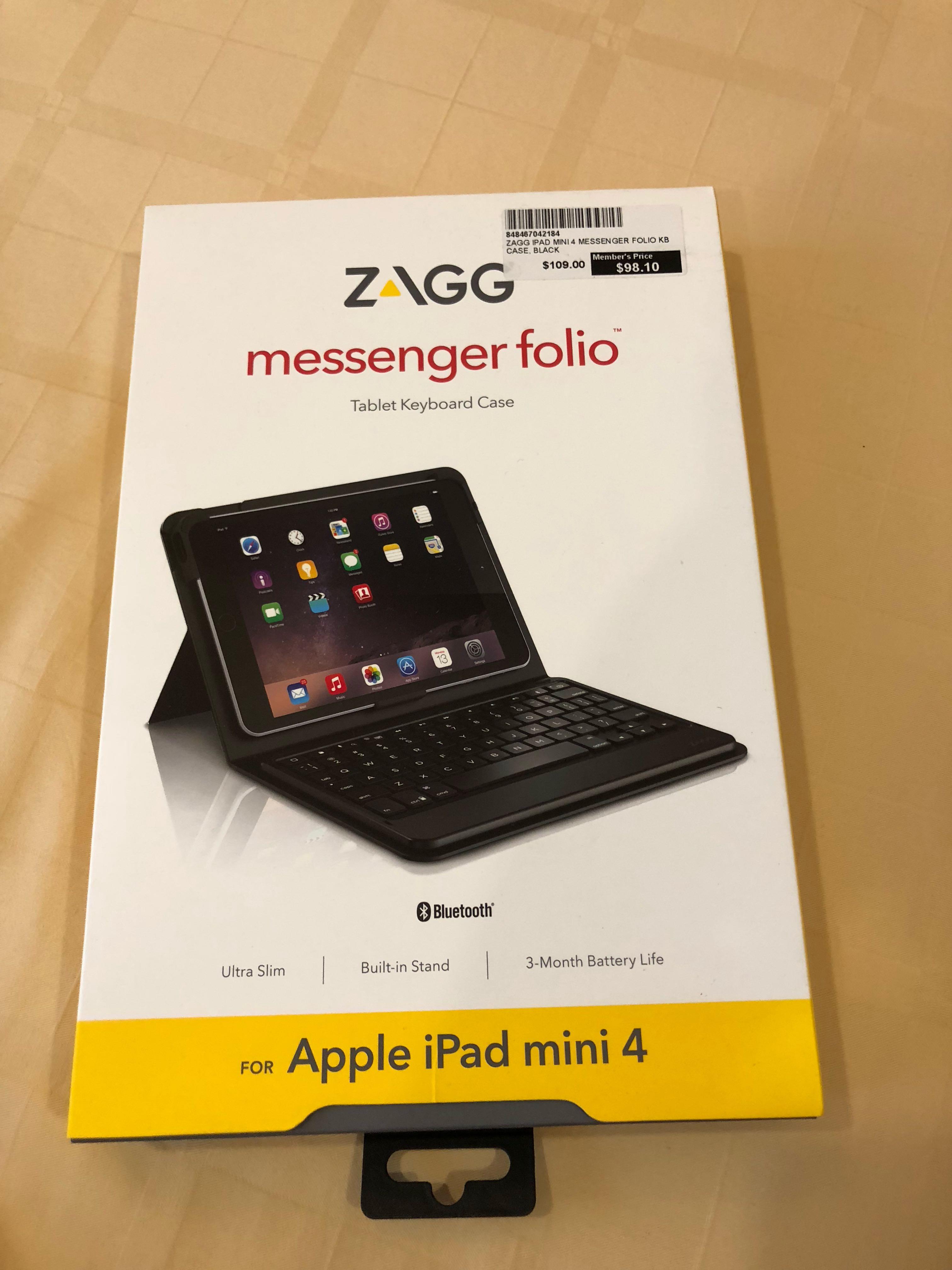 pretty nice 1c56b c853f BNIB ZAGG Messenger Folio