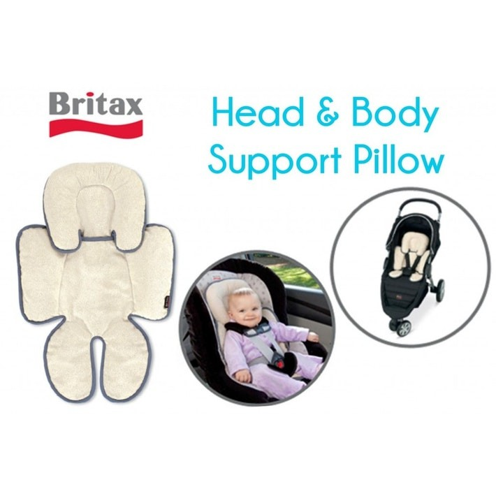 Britax Stroller Car Seat Head And Body Support Pillow Used Babies Kids On Carousell