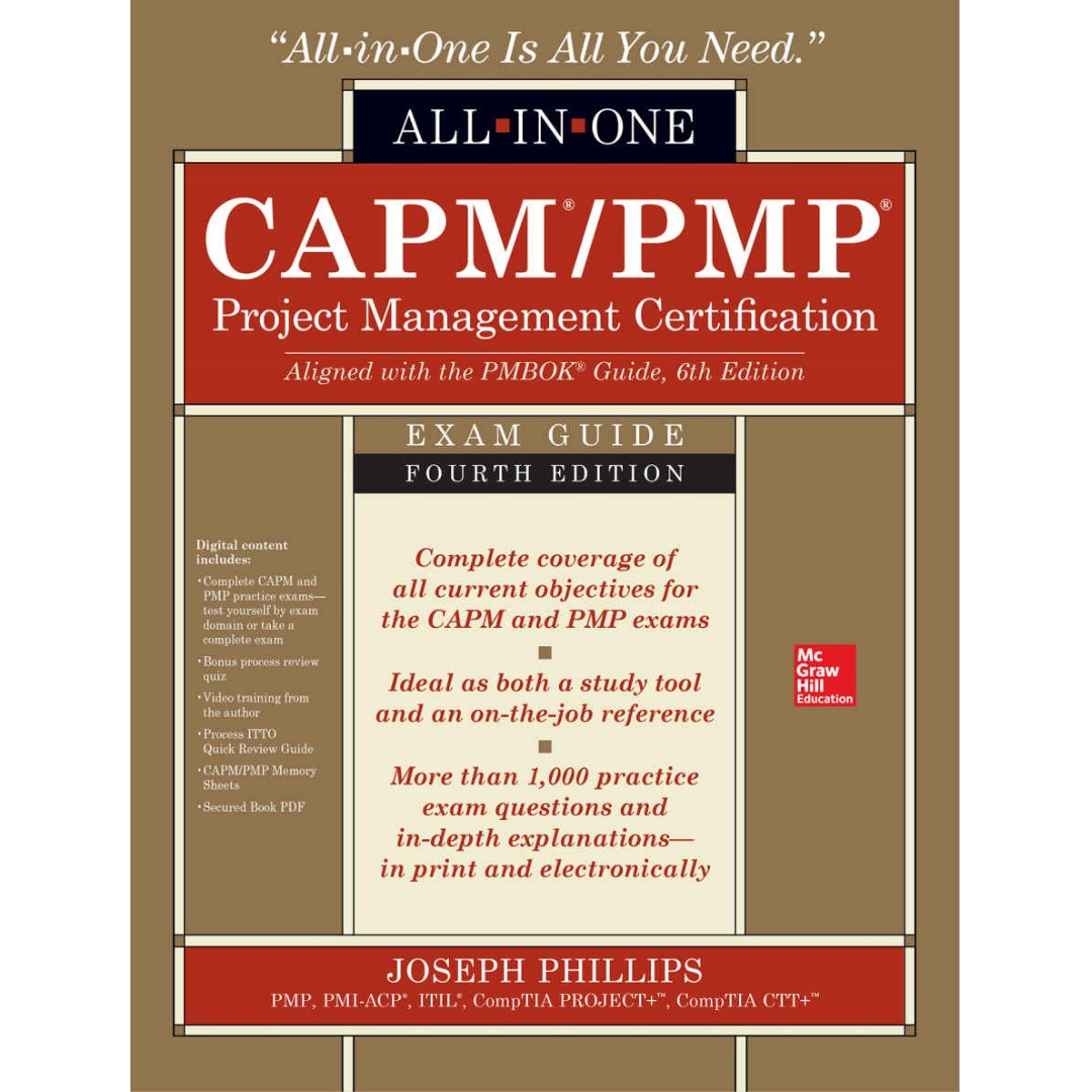 Capmpmp Project Management Certification All In One Exam Guide 4th