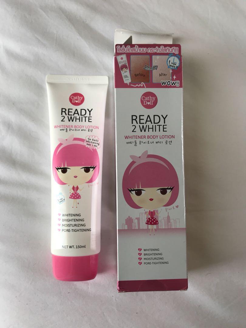 Cathy Doll Ready To White Kesehatan Kecantikan Kulit Sabun 2 Whitener Body Lotion 150ml Photo