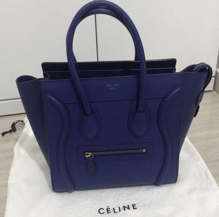 3cca537ee434 Celine Micro Luggage