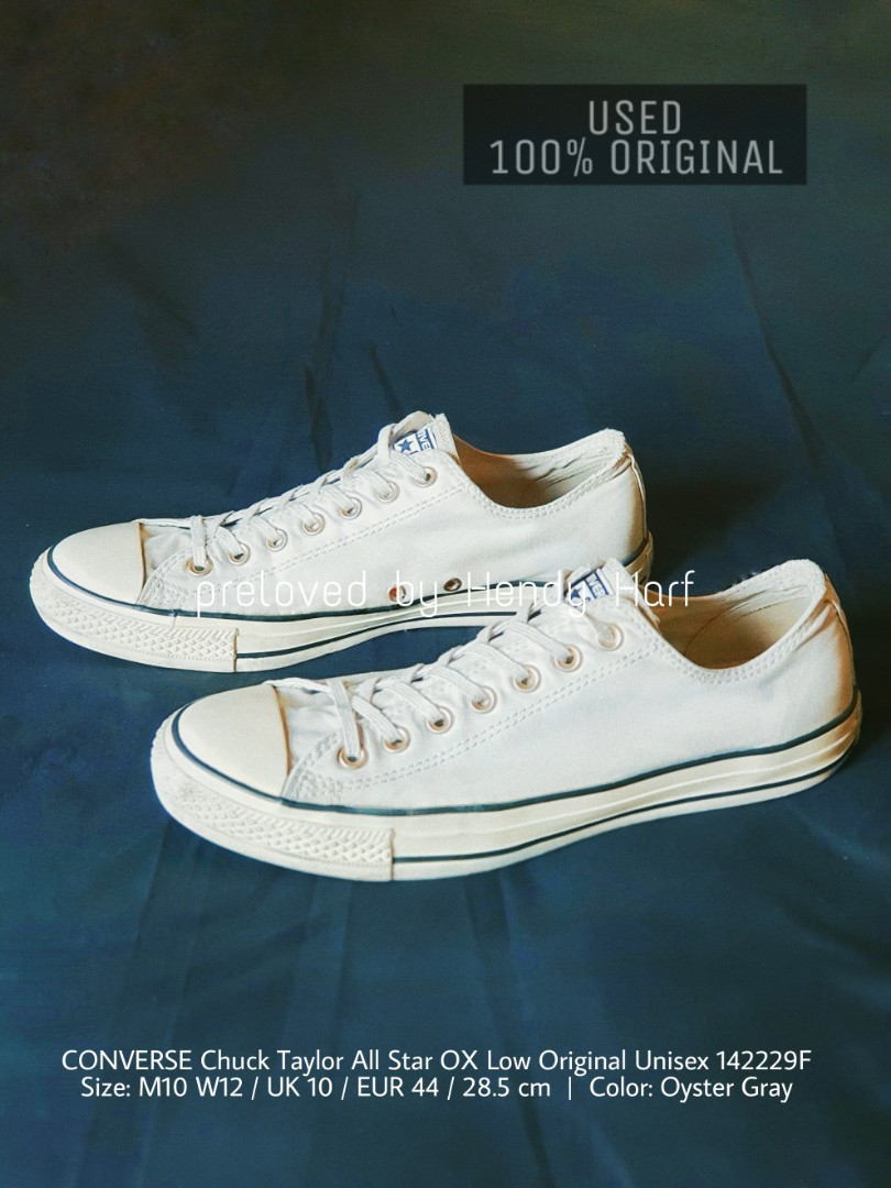 CONVERSE Chuck Taylor All Star OX Low Original Unisex 142229F ORIGINAL  Sepatu Sneakers Shoes 0f39f517ab