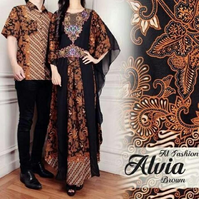 Couple Kaftan Alvia dan Kemeja