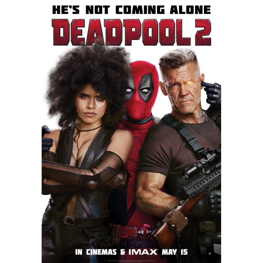 Deadpool 2 Movie Posters Full Sized Design Craft Art Prints