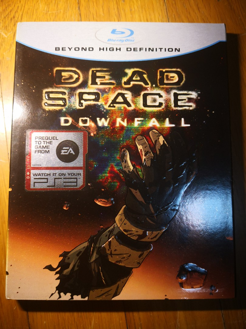 Dead Space Downfall Blu Ray Music Media Cds Dvds Other