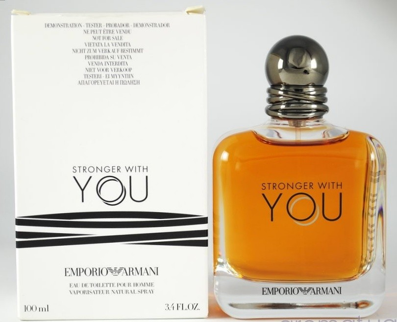 e92c2f5b5ee1c Emporio Armani Stronger With You Tester Box, Health   Beauty, Perfumes,  Nail Care,   Others on Carousell