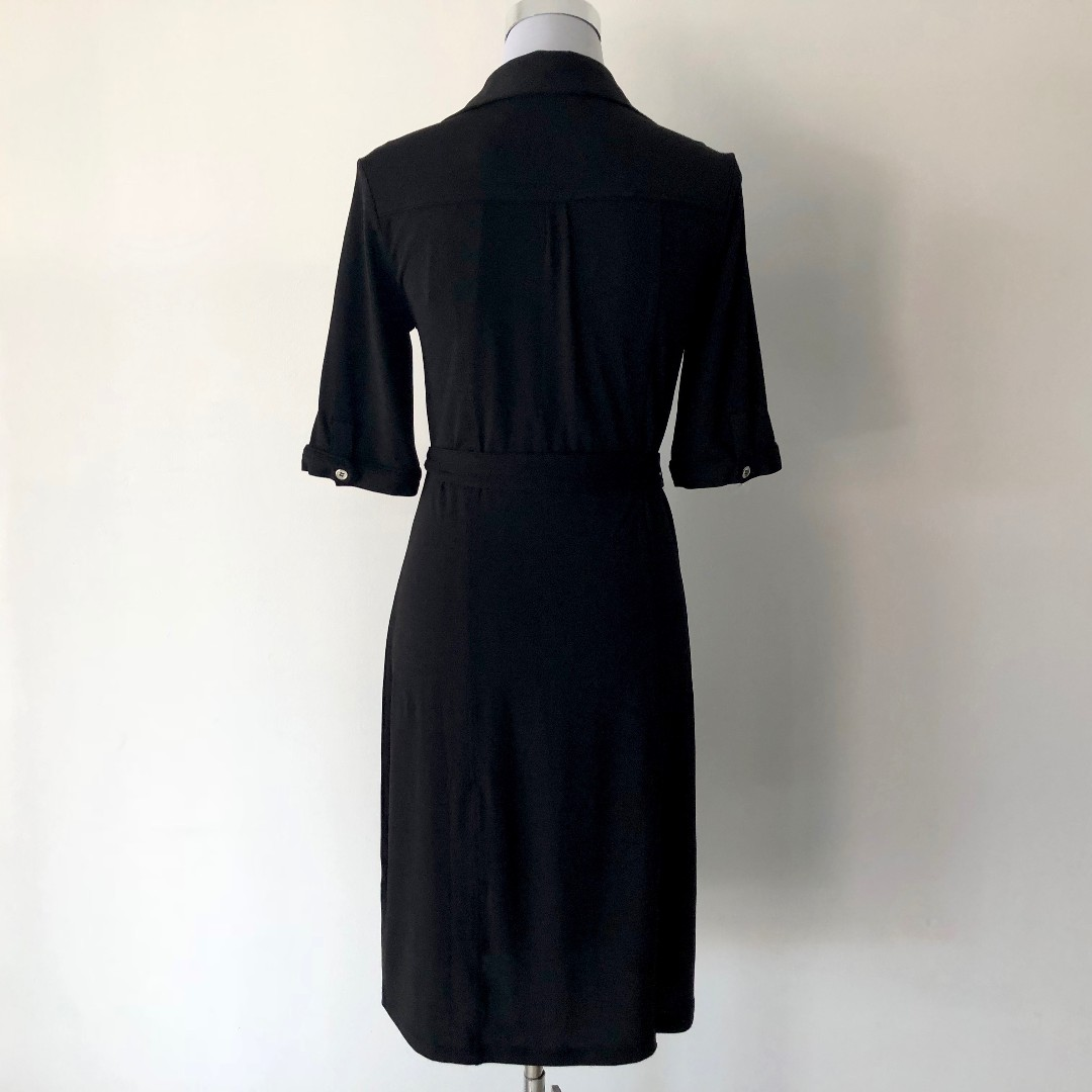 Events Black Jersey Shirt Dress Size M - Brand New with Tags