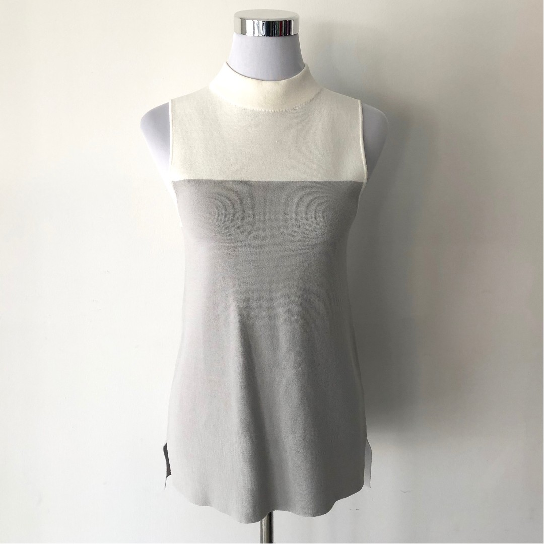 Forever New Jacinta High Neck Milano Tank Size S - Brand New with Tags