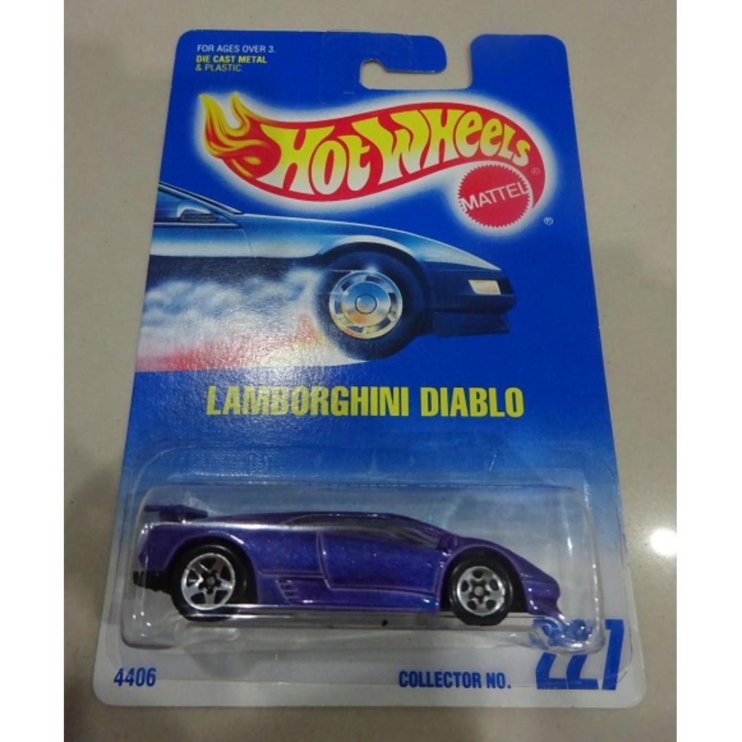 Hotwheels Lamborghini Diablo Toys Games Other Toys On Carousell