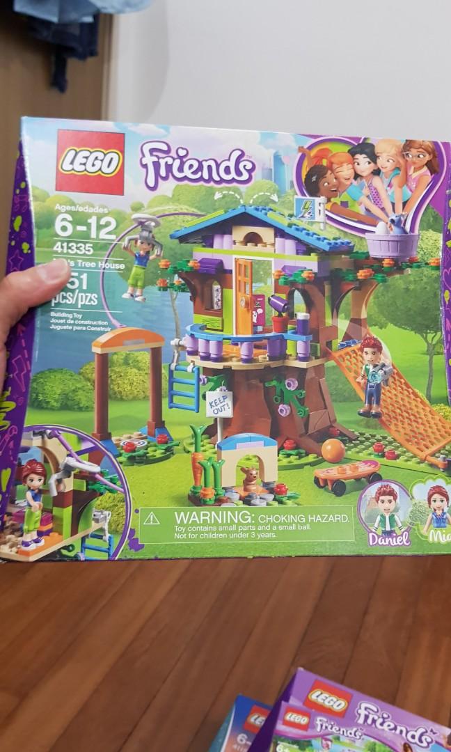 Lego Friends Mias Tree House Toys Games Bricks Figurines On