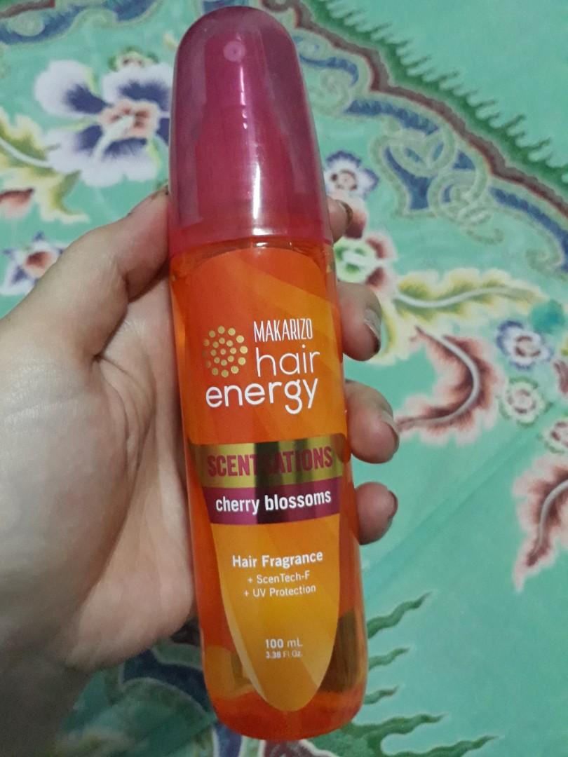 Makarizo Hair Energy Kesehatan Kecantikan Perawatan Rambut Di Parfum Cherry Blossom 100 Ml Carousell