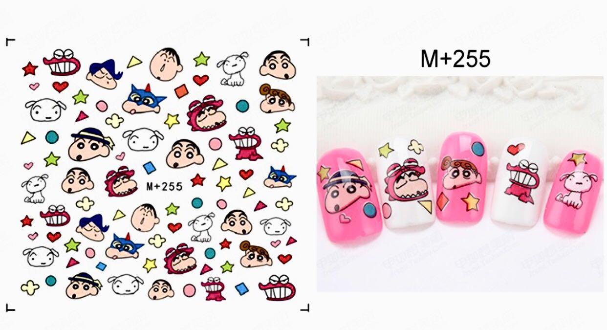 Nail Stickers Decal- Crayon Shin Chan 蜡笔小新, Health & Beauty ...