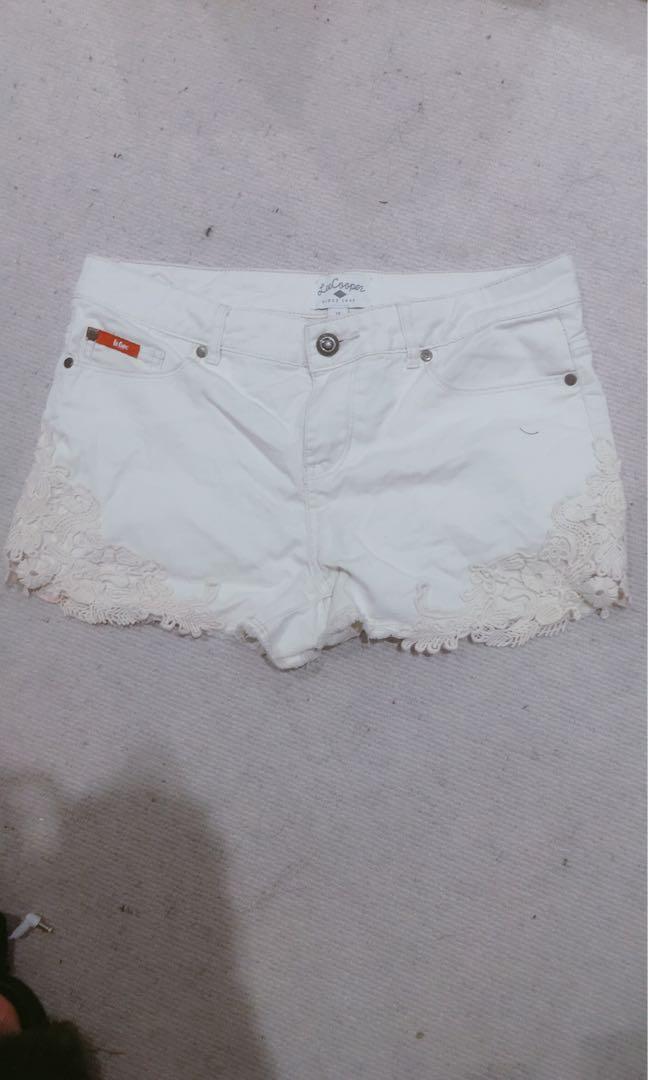 Nearly new shorts size 10