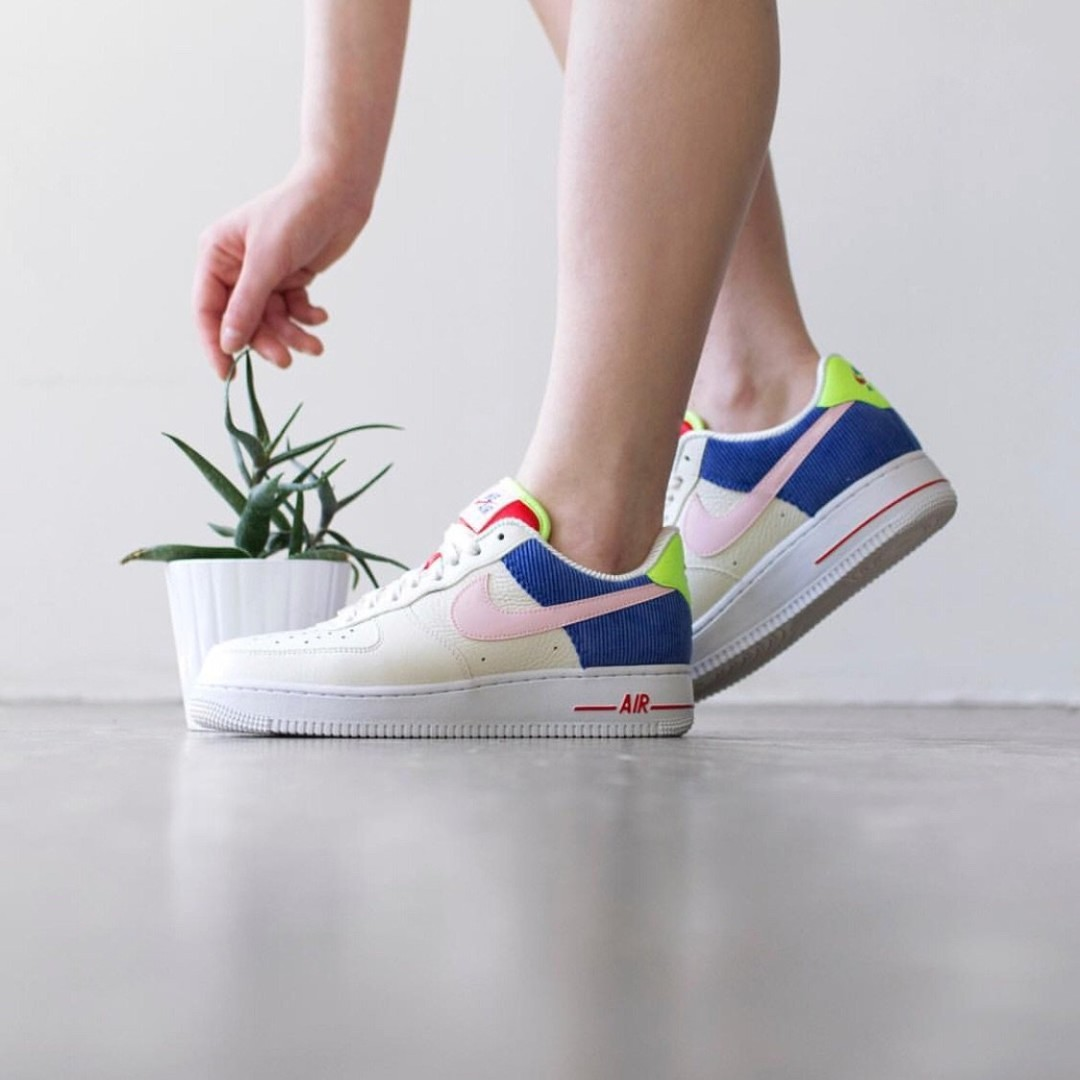 AIR FORCE 1 - Trainers - sail/arctic pink/racer blue Outlet Exclusive Pre Order For Sale Outlet Fast Delivery Popular USGkq