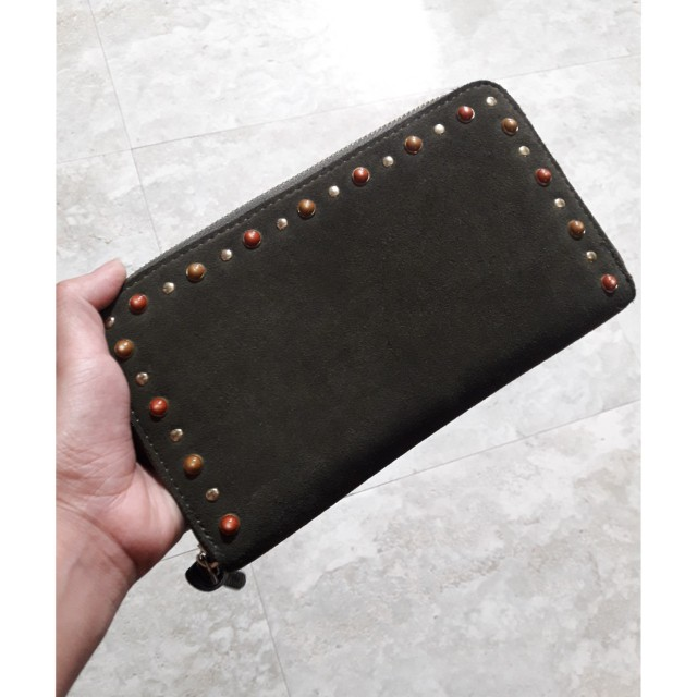 bb20edea9 Parfois Zip Around Wallet, Women's Fashion, Bags & Wallets on Carousell