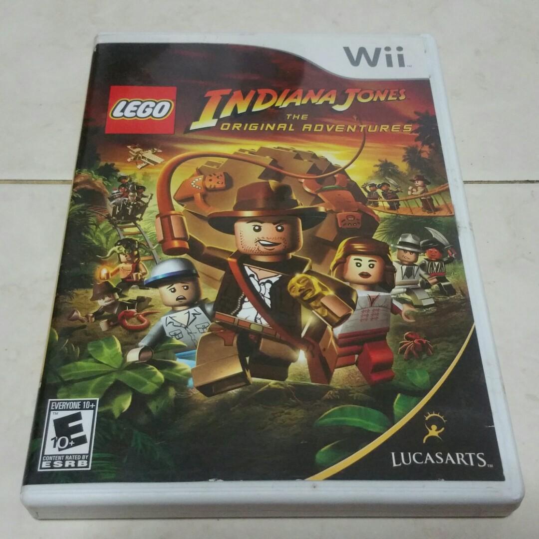 Wii Lego Indiana Jones Nintendo original game