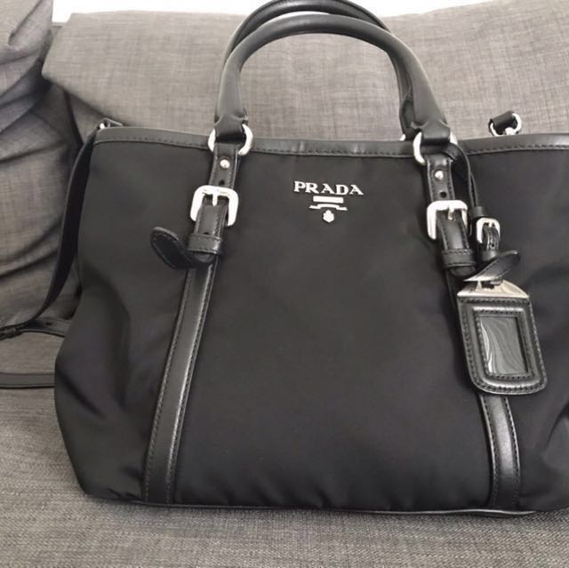 4a22004b23ba Prada BN1841 Tessuto, Luxury, Bags & Wallets on Carousell