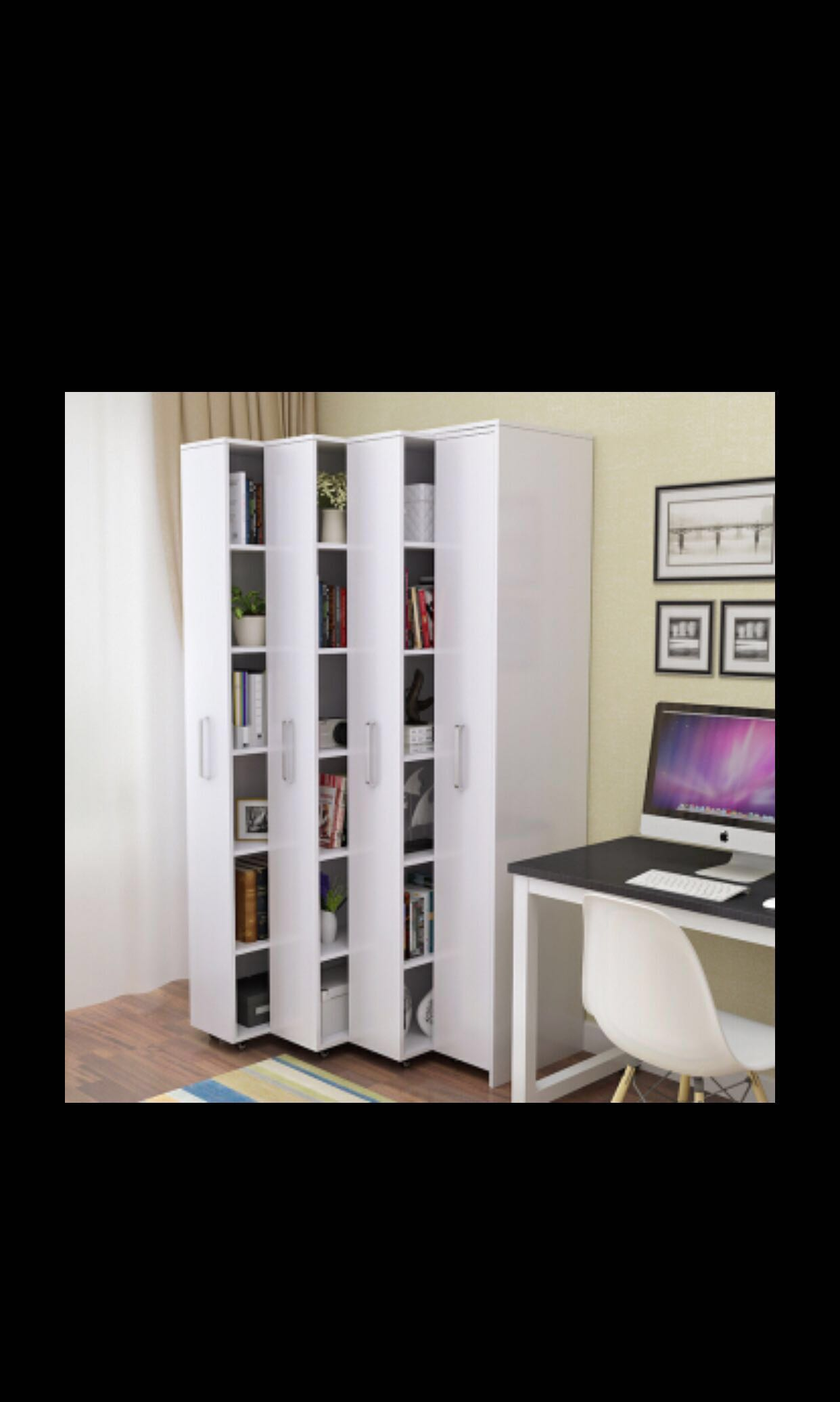 Preorder Drawers Push Pull Bookshelf Movable Bookcase Furniture Shelves On Carousell