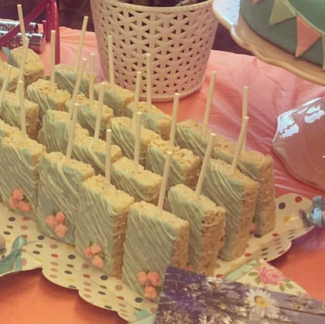 Rice Krispies!!! Beautifully decorated