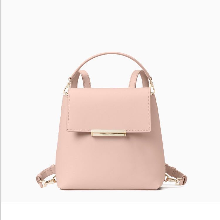 SALE Kate Spade Make It Mine Small Maddie Convertible Backpack Warm ... 1653b62777376