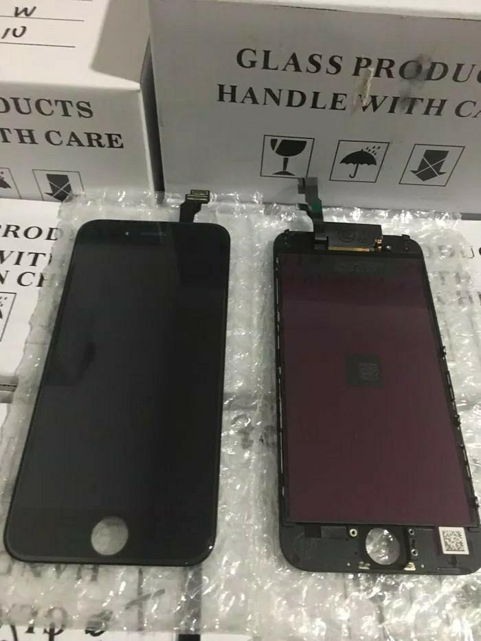 Service/servis/repair/fixing/betulin/benerin.Ganti.LCD+Touchscreen iphone 6+/6plus,plus.retak,pecah,error,rusak.original apple iphone 6/6G.bisa cod dan pasang