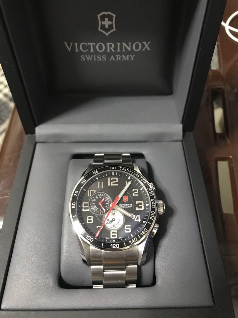 837113aa089c1 Victorinox Chronograph Watch, bought it on amazon a year ago seldom ...