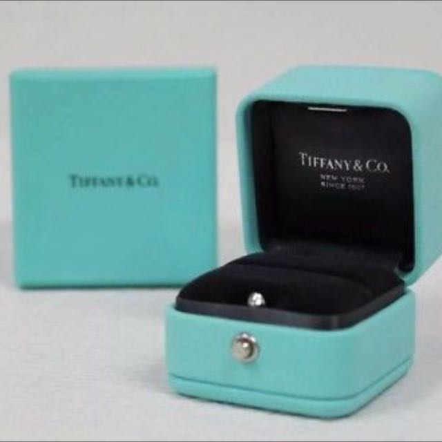 2ac48662d Want To Buy (WTB) Tiffany & Co Blue Leather Engagement Ring Box ...