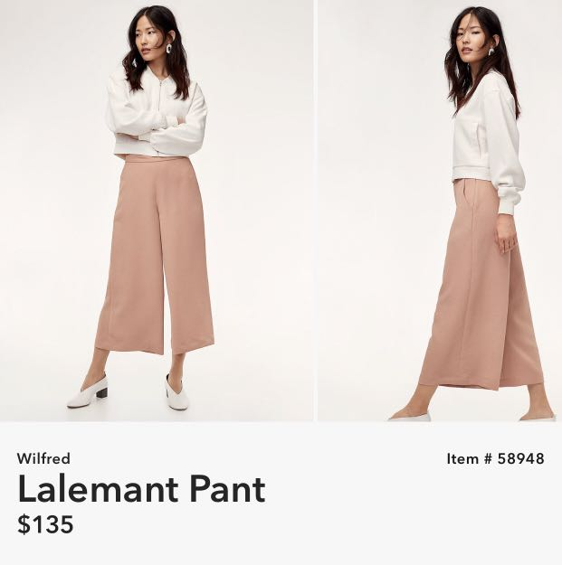 Wilfred Brown Lalemant Pants