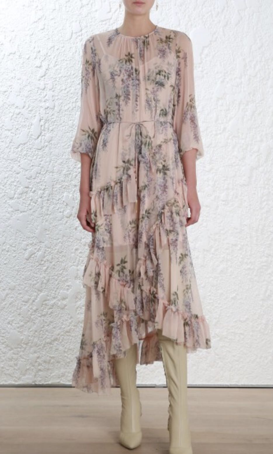 07a123f037b Zimmermann Folly Feathery Dress (SOLD OUT)
