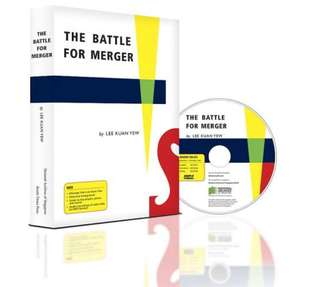 The Battle for Merger - Lee Kuan Yew + CD