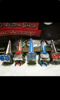 Horn case vespa super sprint clasic