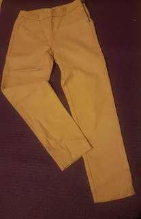 Zara soft pink long pants for a girl